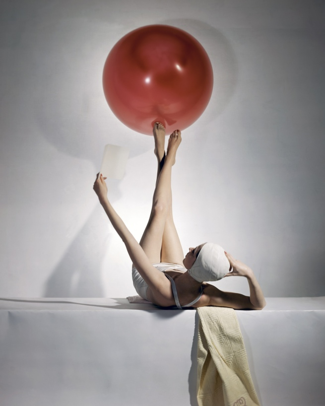 Horst P. Horst. 'Summer Fashions, American Vogue cover' 1941