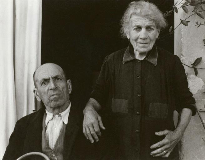 Paul Strand. 'The Couple, Luzzara' 1953