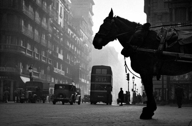 Francesc Català-Roca. 'La Vía Layetana, Barcelona' (The Via Layetana, Barcelona), 1950