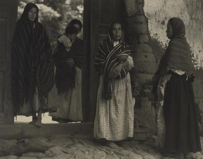 Paul Strand. 'Women of Santa Ana, Lake Pátzcuaro, Mexico' 1933