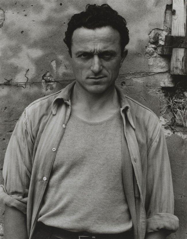 Paul Strand. 'Young Man, Luzzaro (Ivo Lusetti)' 1953