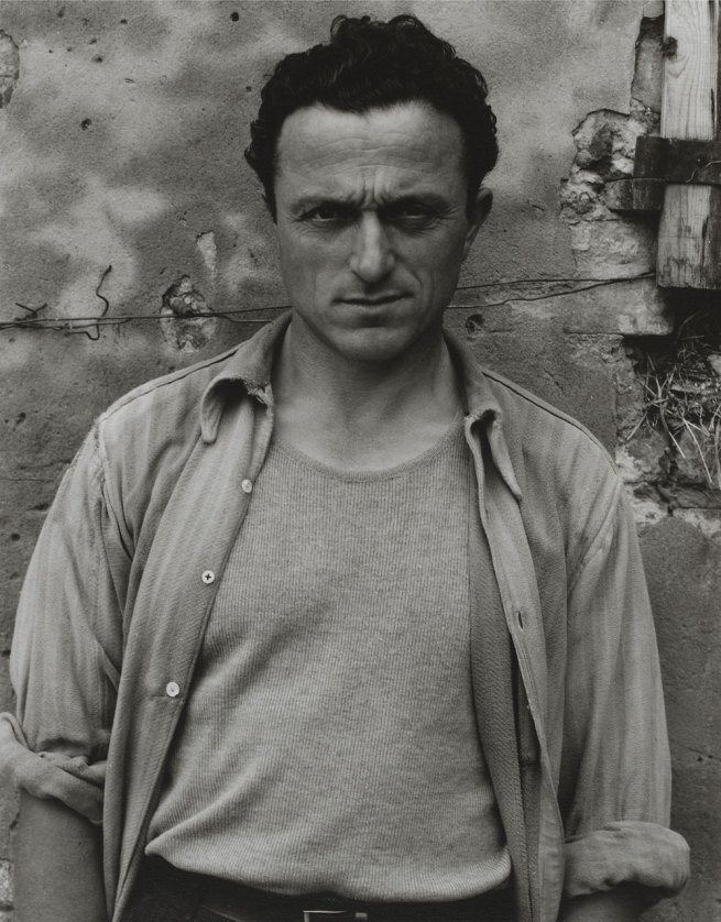 Paul Strand. 'Young Man, Luzzaro (Ivo Lusetti)' 1953