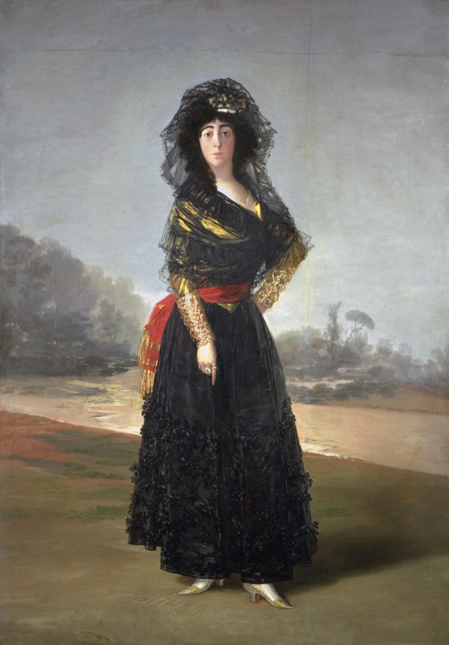 Francisco Goya (Spanish, 1746–1828) 'María del Pilar Teresa Cayetana de Silva Álvarez de Toledo y Silva, Thirteenth Duchess of Alba' 1797
