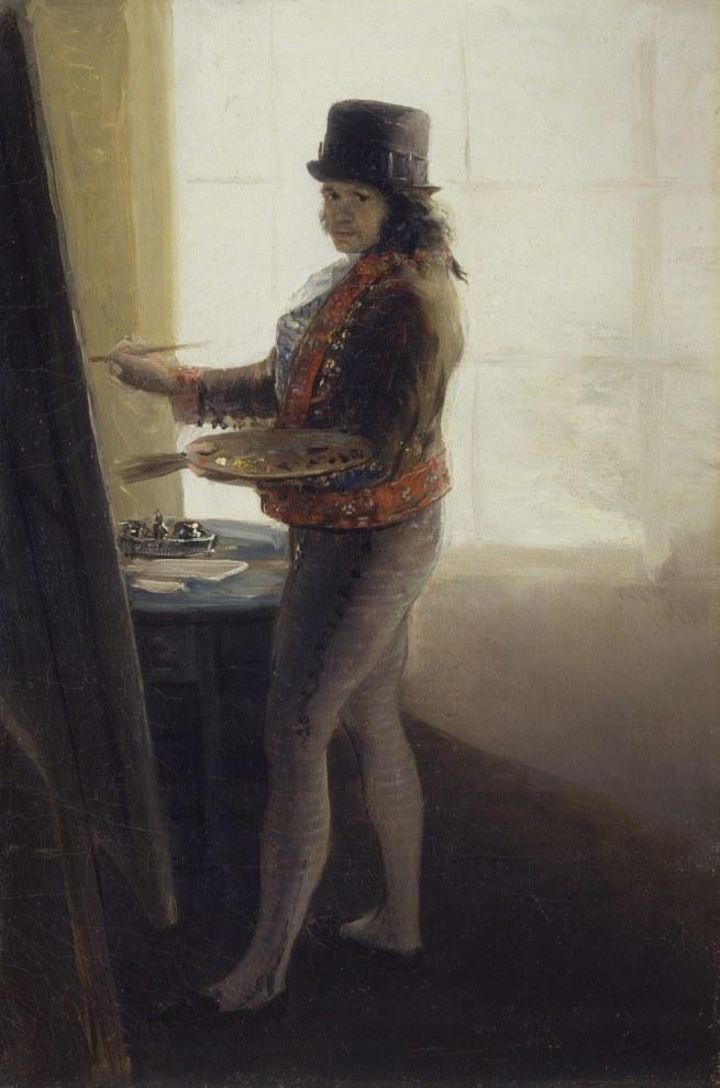 Francisco Goya (Spanish, 1746–1828) 'Self-Portrait While Painting' c. 1795