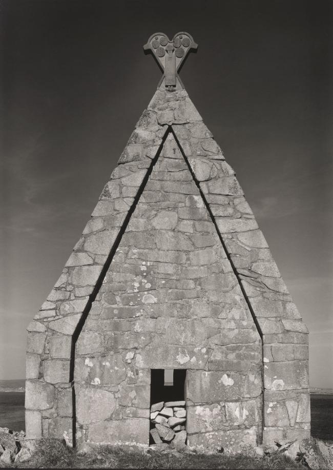 Paul Capongiro (b. 1932) 'Church, St. MacDara's Island, County Galway, Ireland' 1989