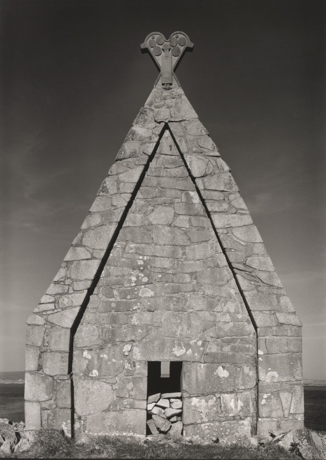 Paul Capongiro (b. 1932) 'Church, St. MacDara's Island, County Galway, Ireland' 1989