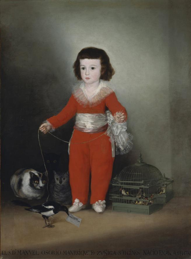 Francisco Goya (Spanish, 1746–1828) 'Manuel Osorio Manrique de Zuñiga' c. 1788