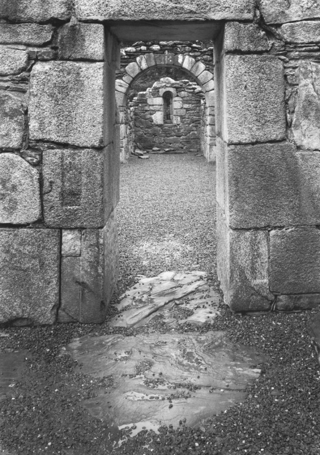 Paul Caponigro (b. 1932) 'Reefert Church, Glendalough, County Wicklow, Ireland' 1988