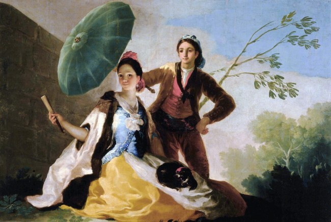 Francisco Goya (Spanish, 1746–1828) 'The Parasol' 1777