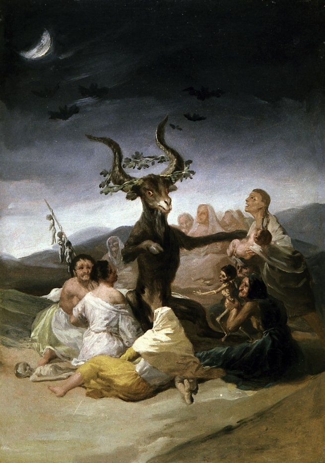 Francisco Goya (Spanish, 1746–1828) 'Witches' Sabbath' 1797–98