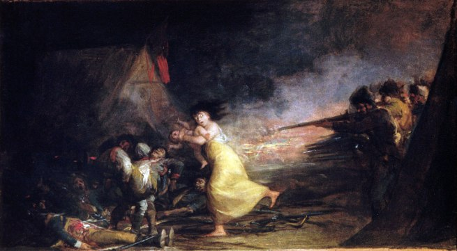 Francisco Goya (Spanish, 1746–1828) 'Attack on a Military Camp' about 1808–10