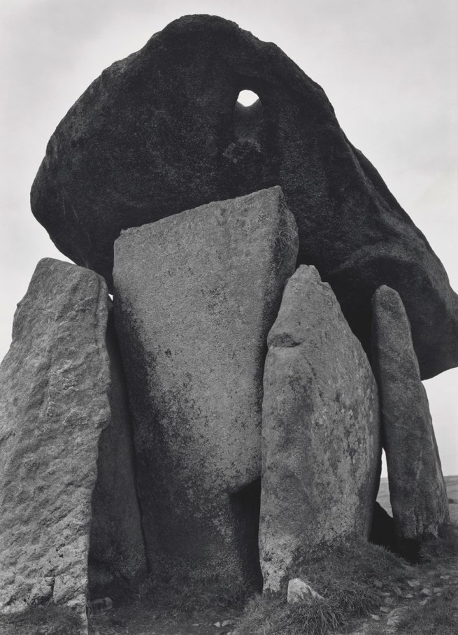 Paul Caponigro (b. 1932) 'Trethevy Quoit, Cornwall, England' 1977