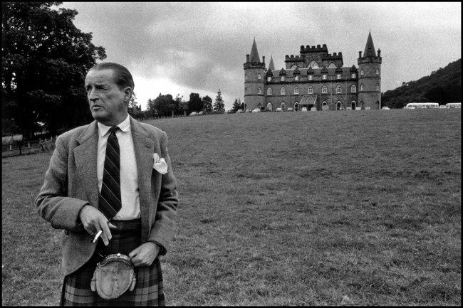 Bruce Davidson (b. 1933) 'The Duke of Argyll, Inverary, Scotland' 1960