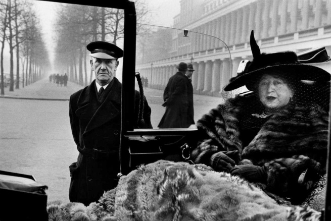Inge Morath. 'London' 1950