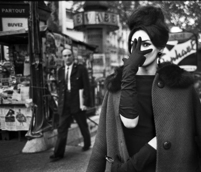 Christer Strömholm. 'Nana, Place Blanche, Paris' 1961