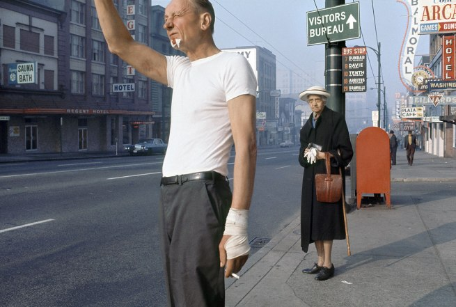 Fred Herzog. 'Man with Bandage' 1968