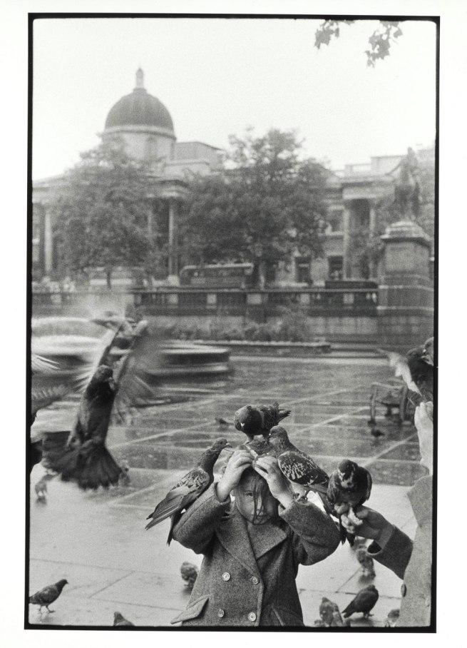Bruce Davidson (b. 1933) 'Trafalgar Square, London' 1960
