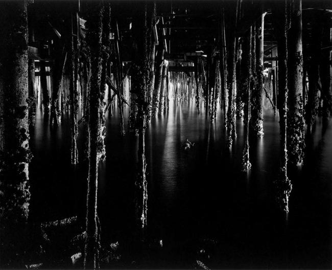 Wynn Bullock (American, 1902–1975) 'Under Monterey Wharf' 1969