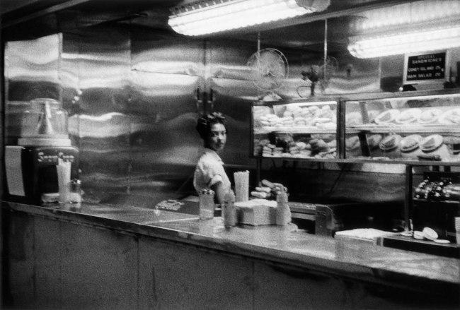 Robert Frank. 'Coffee Shop Railway Station' 1955-56