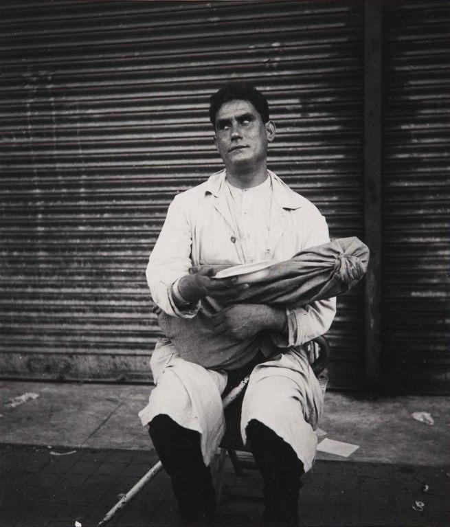 Dora Maar (French, 1907-1997) 'Mendiant aveugle' (Blind Beggar) 1934