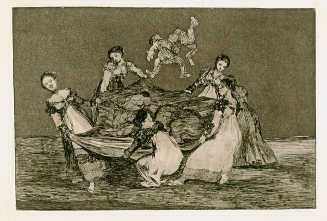 Francisco Goya (Spanish, 1746–1828) 'Feminine Absurdity (Disparate femenino) Disparates 1' 1815-17