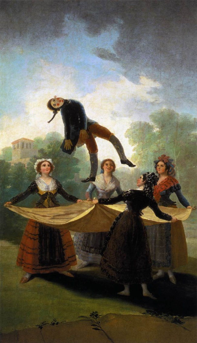 Francisco Goya (Spanish, 1746-1828) 'Straw Mannequin' 1791