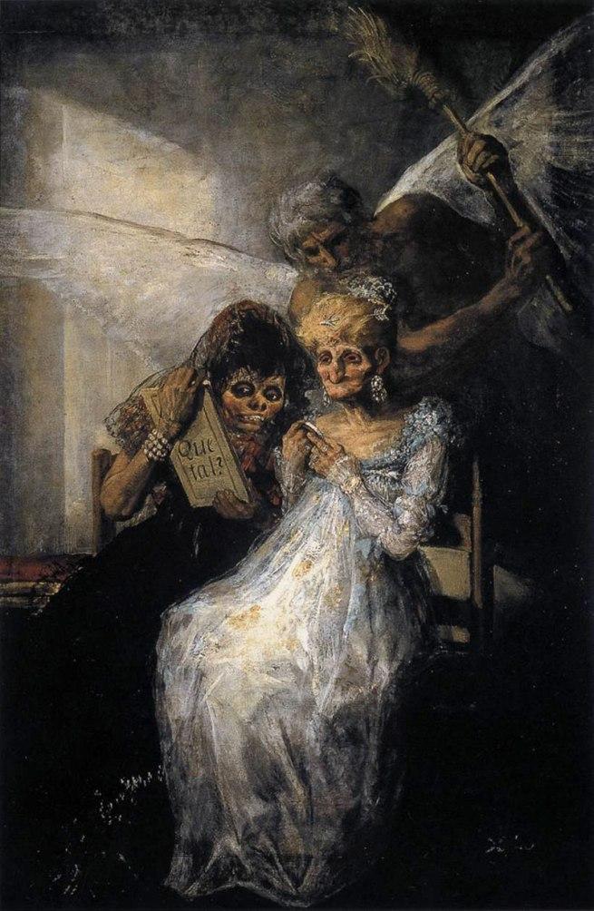 Francisco Goya (Spanish, 1746-1828) 'Time (Old Women)' c. 1810-12
