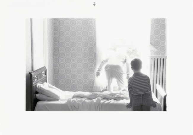 Duane Michals. 'Grandpa Goes to Heaven' 1989