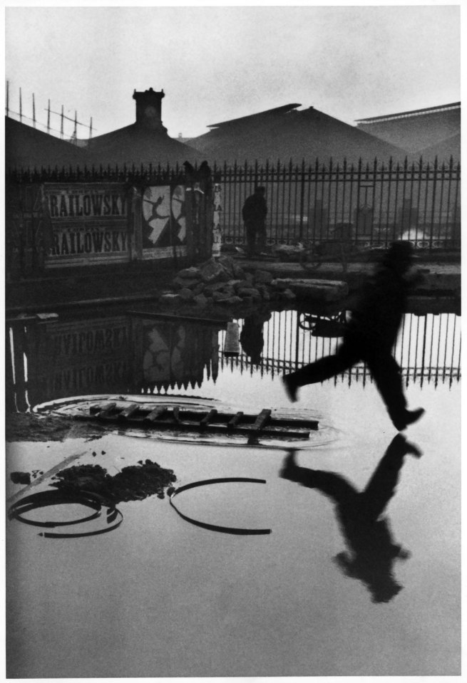 Henri Cartier-Bresson. 'Behind the Gare Saint-Lazare, Paris' 1932