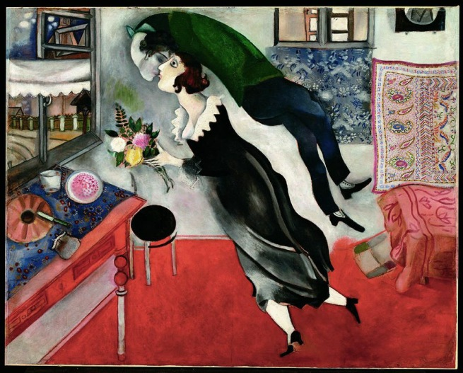 Marc Chagall. 'Il compleanno' 1915