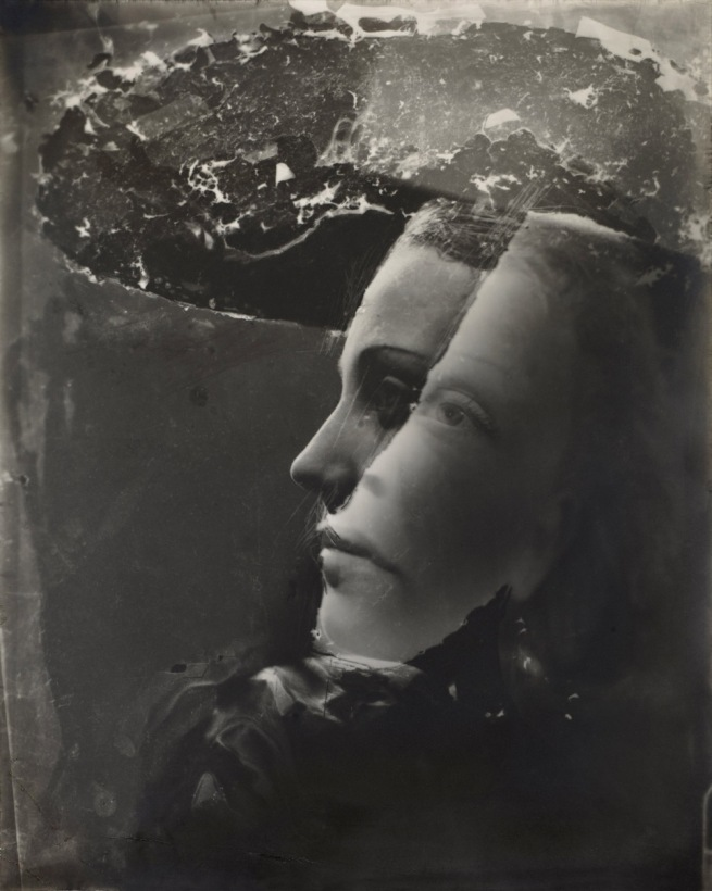Dora Maar (French, 1907-1997) 'Double Portrait with Hat' c. 1936-37