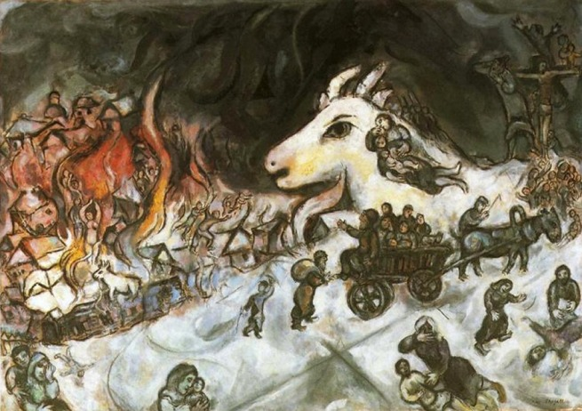 Marc Chagall. 'War' 1964