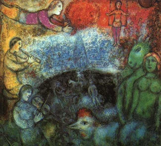 Marc Chagall. 'The Grand Parade' 1979