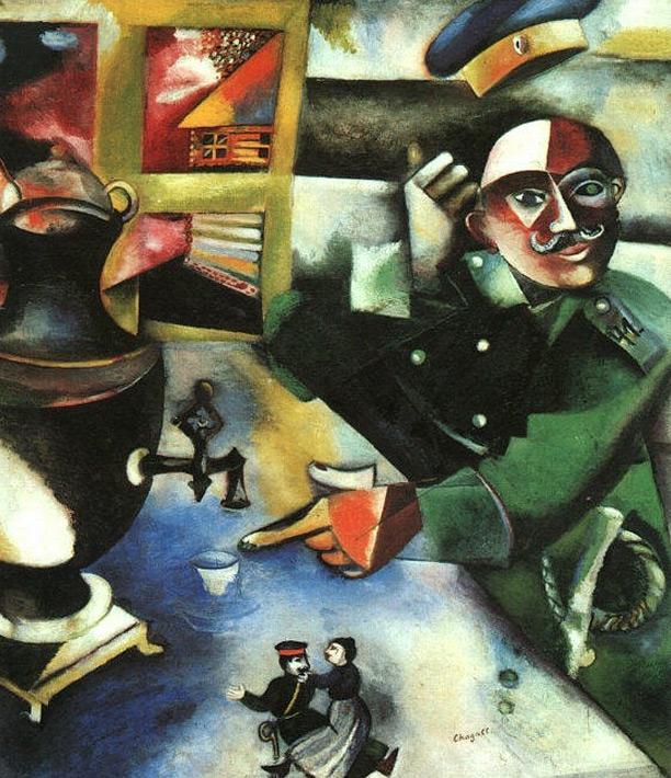 Chagall nude Nude Photos 23