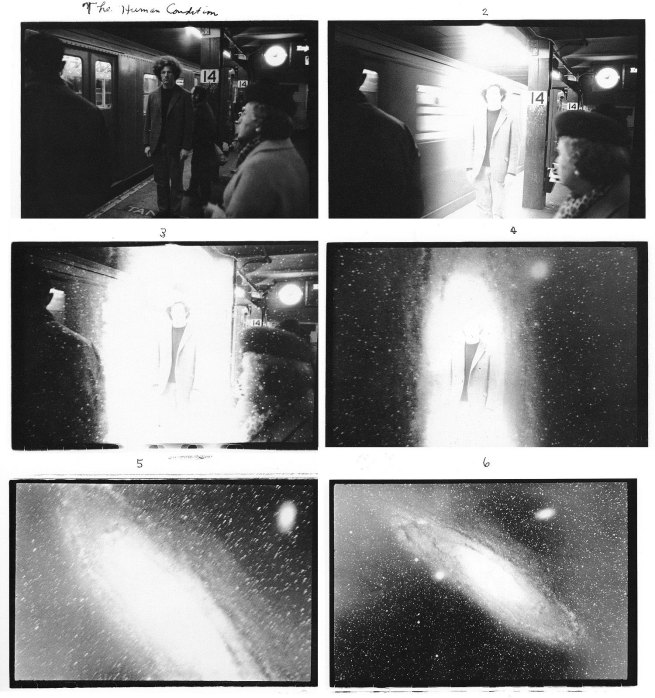 Duane Michals. 'The Human Condition' 1969