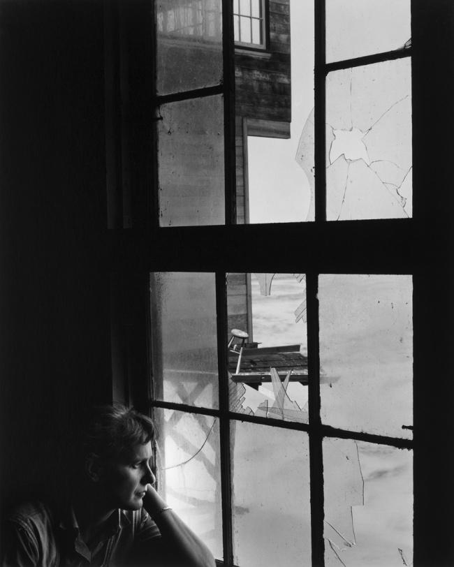 Wynn Bullock (American, 1902–1975) 'Portrait of Edna, Cannery Row' 1955