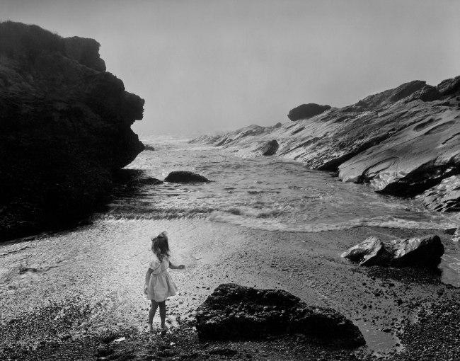 Wynn Bullock (American, 1902–1975) 'Lynne, Point Lobos' 1956