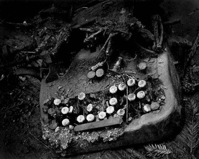 Wynn Bullock (American, 1902–1975) 'Old Typewriter' 1951