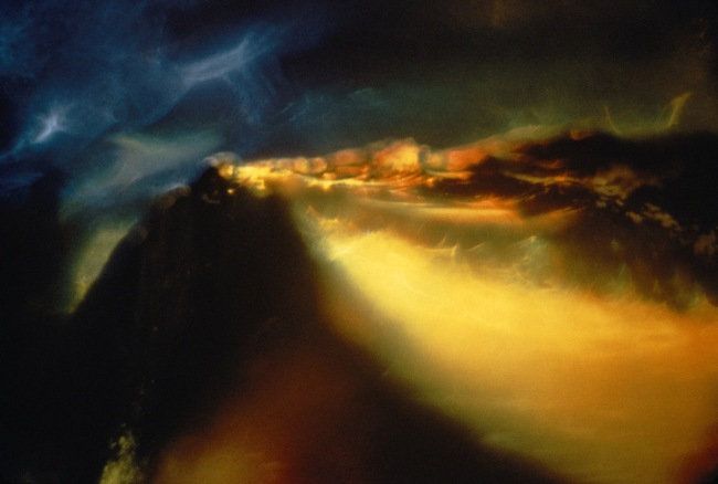 Wynn Bullock (American, 1902–1975) 'Color Light Abstraction 1075' 1963