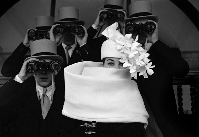 Frank Horvat. 'Givenchy Hat For Jardin des Modes' 1958
