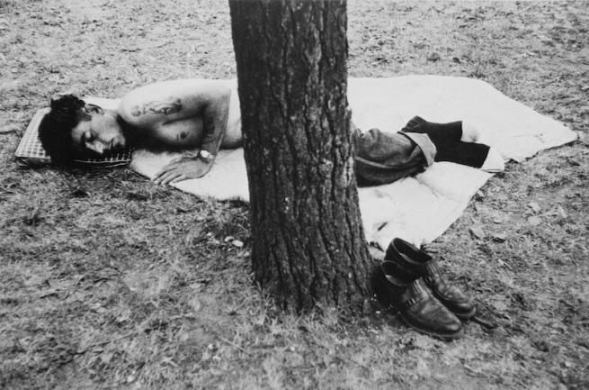 Robert Frank. 'Public park, Cleveland, Ohio' 1955-56