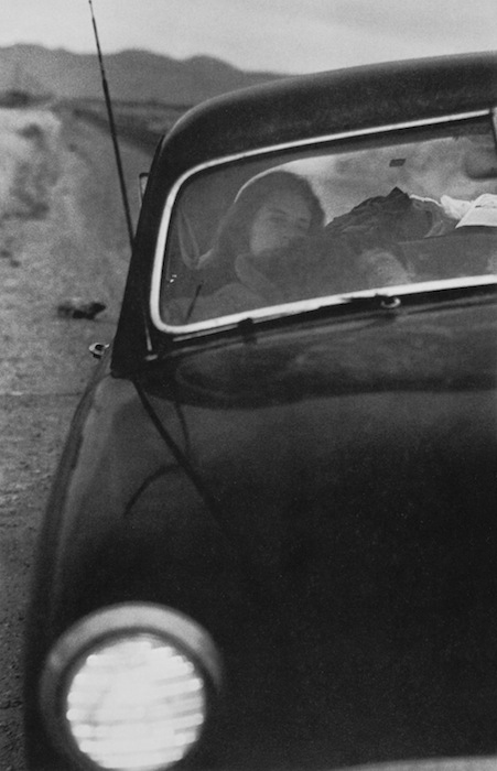 Robert Frank. 'US 90 on route to Del Rio, Texas' 1955-56