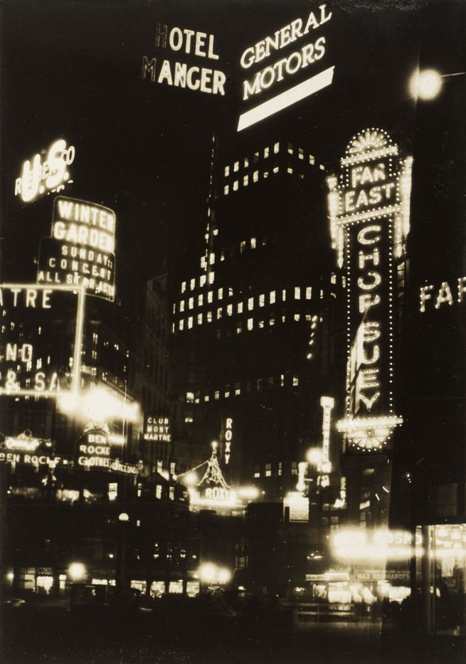 Thurman Rotan (American, 1903-1991) 'New York Montage' 1928
