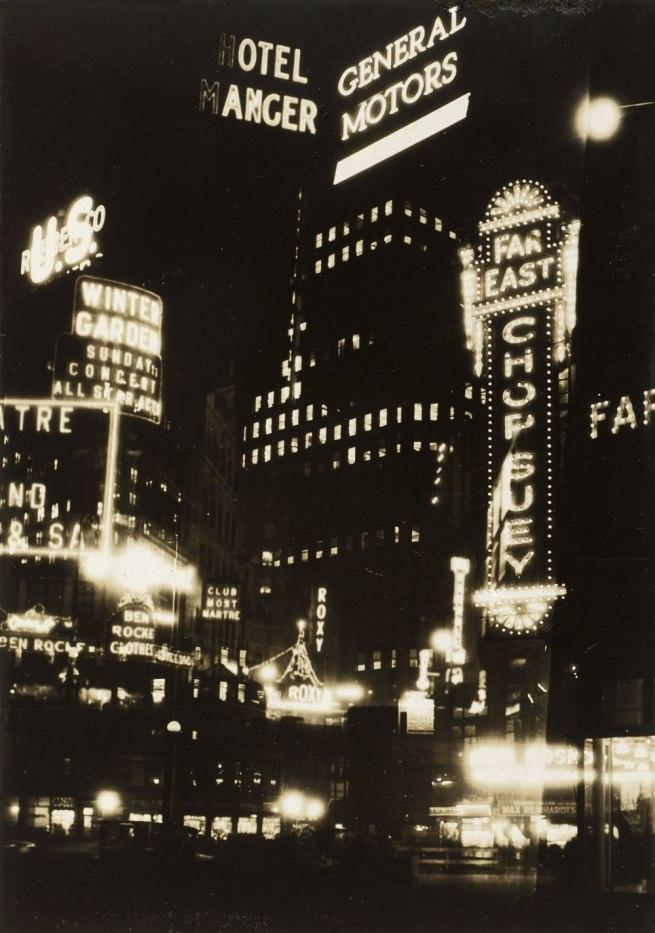Thurman Rotan (American, 1903-1991) 'New York Montage' 1928