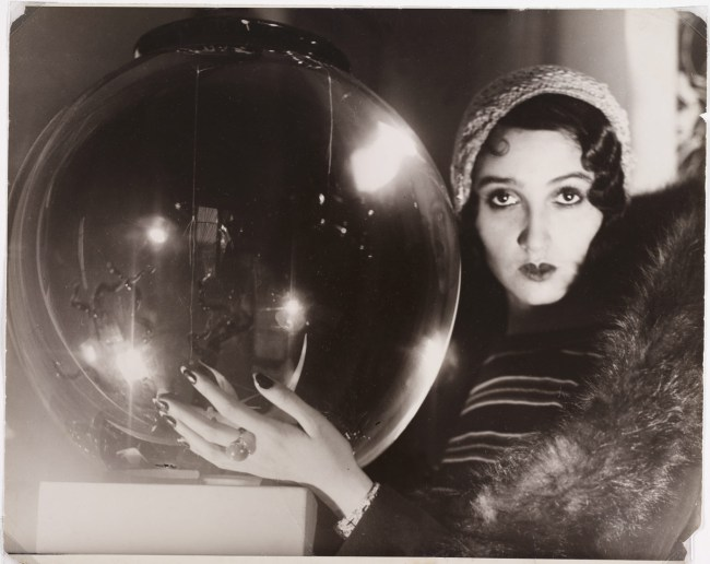 Jacques-Henri Lartigue (French, 1894-1986) 'The Crystal Ball' (La Boule de Verre) 1931