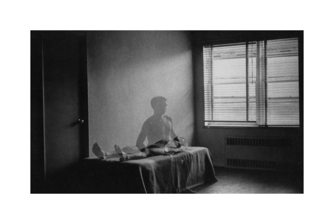 Duane Michals. 'The Spirit Leaves The Body' 1968