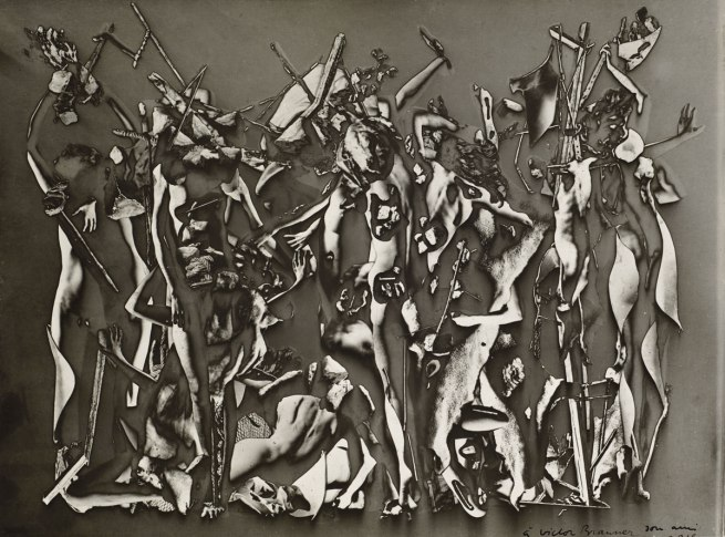 Raoul Ubac (Belgian, 1910-1985) 'The Battle of the Penthesilea' (Le Combat des Penthésiliées) 1937