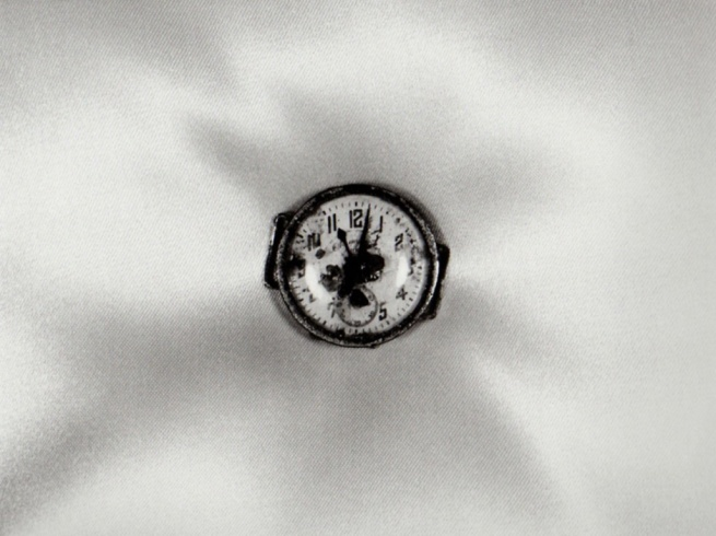 Shomei Tomatsu 'Atomic Bomb Damage - Wristwatch Stopped at 11-02, August 9. 1945' (1961)
