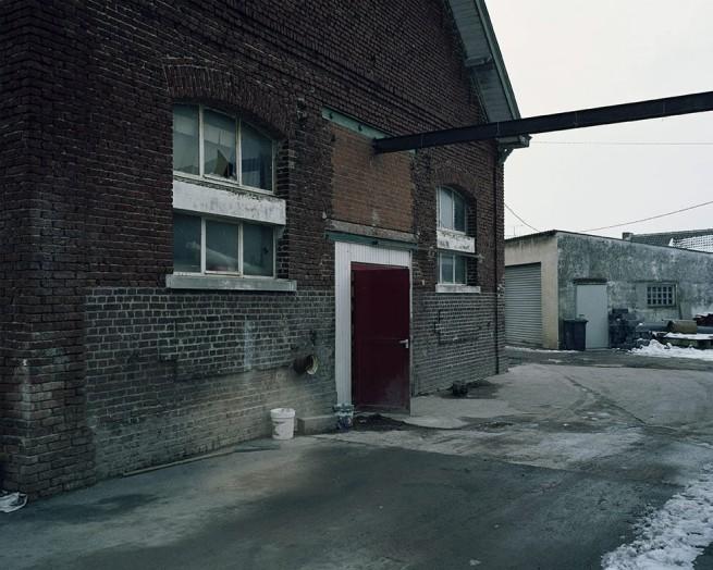 Chloe Dewe Mathews. 'Former Abattoir, Mazingarbe, Nord-Pas-de-Calais' 2013