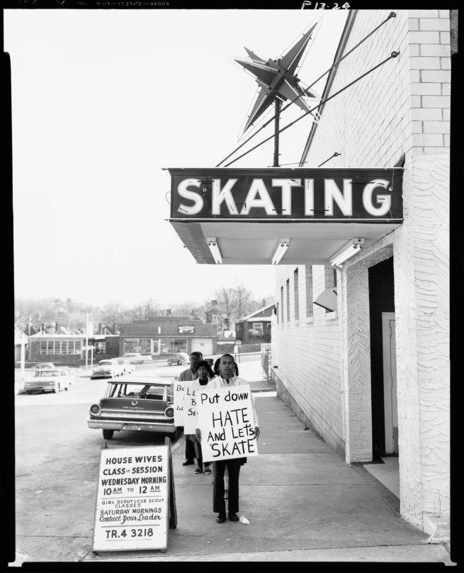 Richard Avedon. 'Civil rights demonstration, Atlanta, Georgia' c. 1963